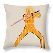 The Bride Throw Pillow by Inspirowl Design