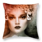The Bride Throw Pillow