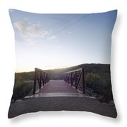 The Bride To... Throw Pillow
