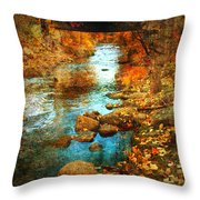 The Bridge By Government Street Throw Pillow
