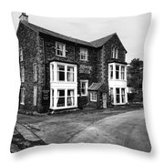 The Bridge Hotel, Buttermere Throw Pillow