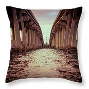 The Bridge II Throw Pillow