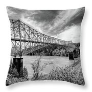 The Bridge Of The Gods Throw Pillow
