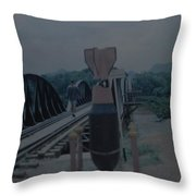 The Bridge On The River Kwai Throw Pillow