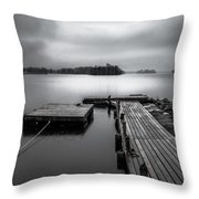 The Bridge To Enlightenment  Throw Pillow