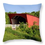 The Bridges Of Madison County Throw Pillow