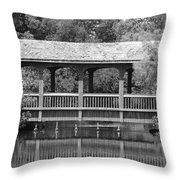 The Bridges Of Miami Dade County Throw Pillow