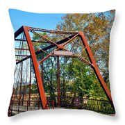 The Bridgetone Bridge Throw Pillow