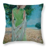 The Bright Day Throw Pillow
