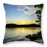 The Brink Of Night Throw Pillow