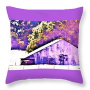 The Broad Side Throw Pillow