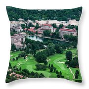 The Broadmoor Resort Throw Pillow