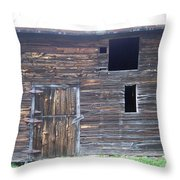 The Broadside Of A Barn Throw Pillow