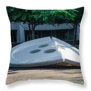 The Broken Button - University Of Pennsylvania Throw Pillow