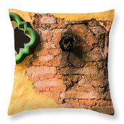 The Broken Wall Throw Pillow
