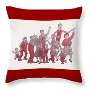 The Broons Throw Pillow