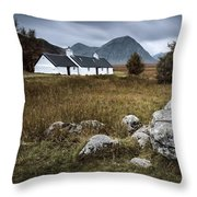 Blackrock And The Buachaille Throw Pillow