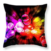 The Bubble Universe Throw Pillow