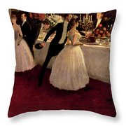 The Buffet Throw Pillow