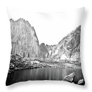 The Bugaboo Spires Throw Pillow