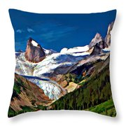 The Bugaboos Throw Pillow