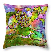 The Bugs Throw Pillow