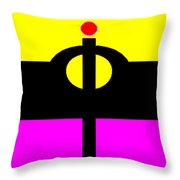 The Builder Throw Pillow by Eikoni Images