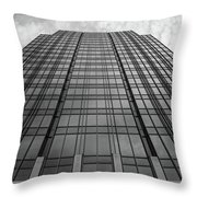 The Building Throw Pillow