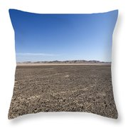 The Bulbus Rock Field In Front Of Mount Zin Throw Pillow