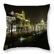 The Bund - Shanghai's Famous Waterfront Throw Pillow