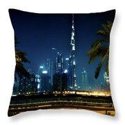 The Burj Khalifa  Throw Pillow