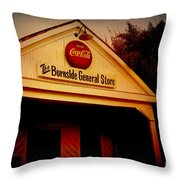 The Burnside General Store Throw Pillow