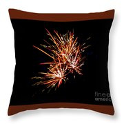 The Burst Throw Pillow