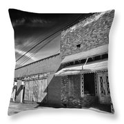 The Business District Throw Pillow