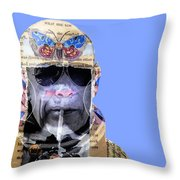 The Butterfly Effect Throw Pillow