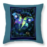 The Butterfly Mission Throw Pillow