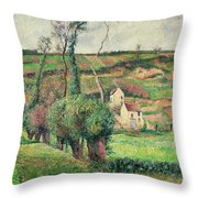 The Cabbage Slopes Throw Pillow