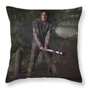 The Cabin In The Woods Throw Pillow