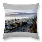 The California Incline Throw Pillow