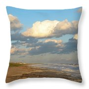The Calm After Throw Pillow