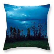 The Calm Before The Storm. Throw Pillow