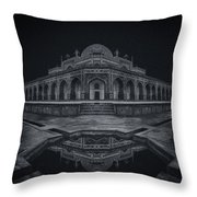 The Calm Of Night Throw Pillow