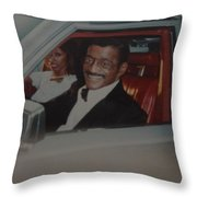 The Candy Man Throw Pillow