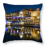 The Cannery Restaurant Throw Pillow