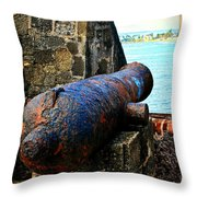 The Cannon  Throw Pillow