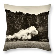 The Cannons' Thunder Throw Pillow