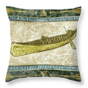 The Canoe Throw Pillow by JQ Licensing