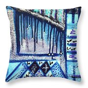 The Canvas Story  Throw Pillow