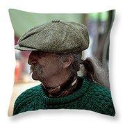 The Cap Throw Pillow