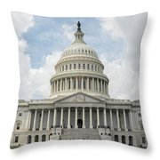 The Capitol Throw Pillow
